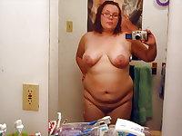 Amateur BBW Homemade Selfies