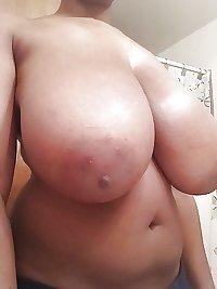 Huge natural saggy tits 2