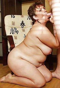 OLD BBW MATURE WOMAN