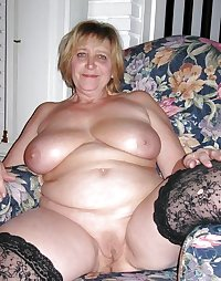 OLD BBW MATURE WOMAN