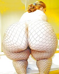 Sexy Hot Big Fat Thick Mega Curvy BBW Ass Butt Booty
