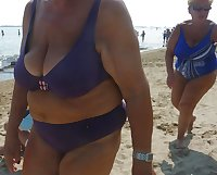 Big Breasted Beach Grandmas