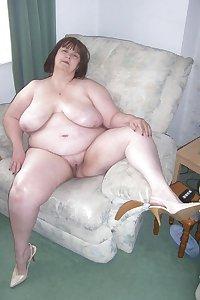 Fat Granny Pussy