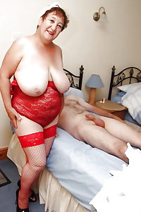 Various granny mature bbw busty clothes lingerie 2