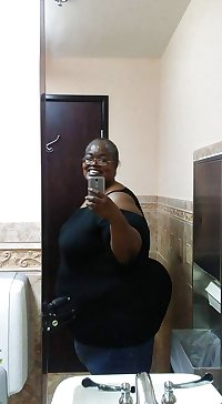 My Ebony SSBBW BBW musterbation collection mix cum with me