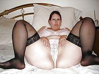 Amateur BBW Slut Wives 4