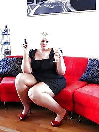 bbw hight heels and boots