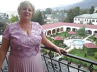 russian mature  granny busty bbw mix